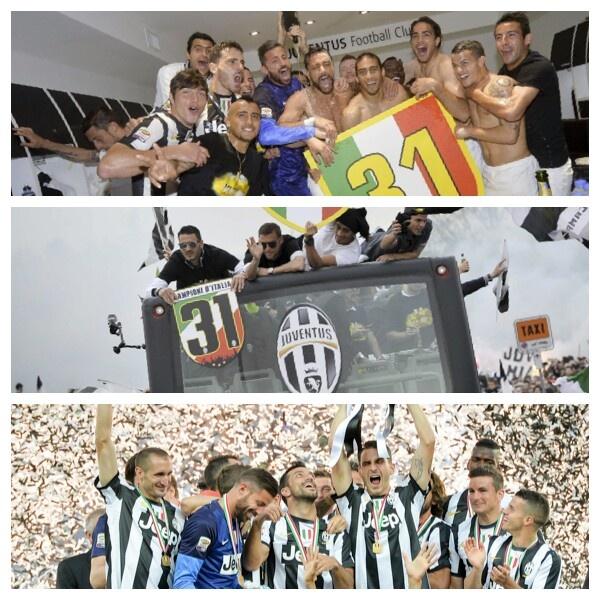 Celebración del campeonato 2012 - 2013