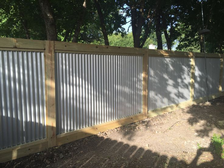 Pin By Thomas Sanders On Corrugated Metal Fence
