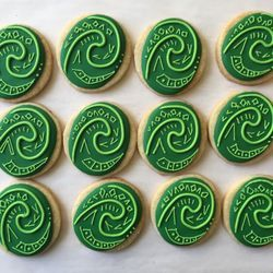 Photo of Short Street Sweets - Berkeley, CA, United States. Moana Heart of Te Fiti cookies