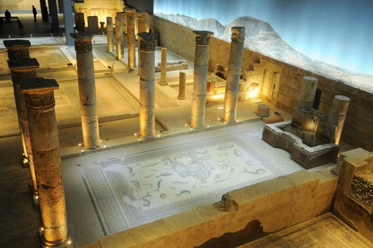 #travel #city #turkey #gaziantep #zeugma #mosaic #museum #poseidon
