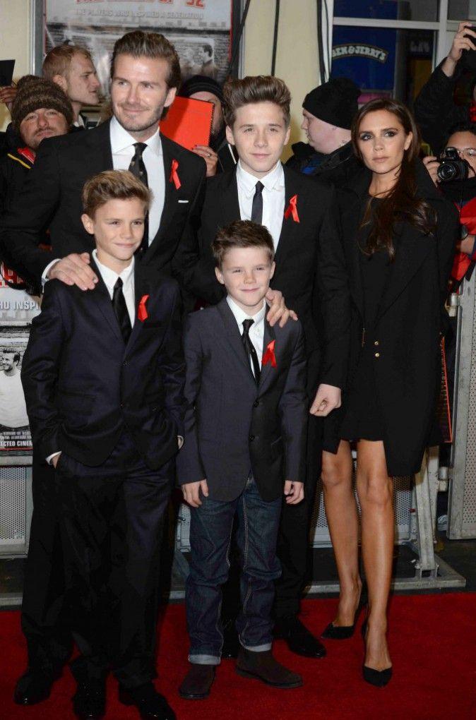 La famille Beckham !