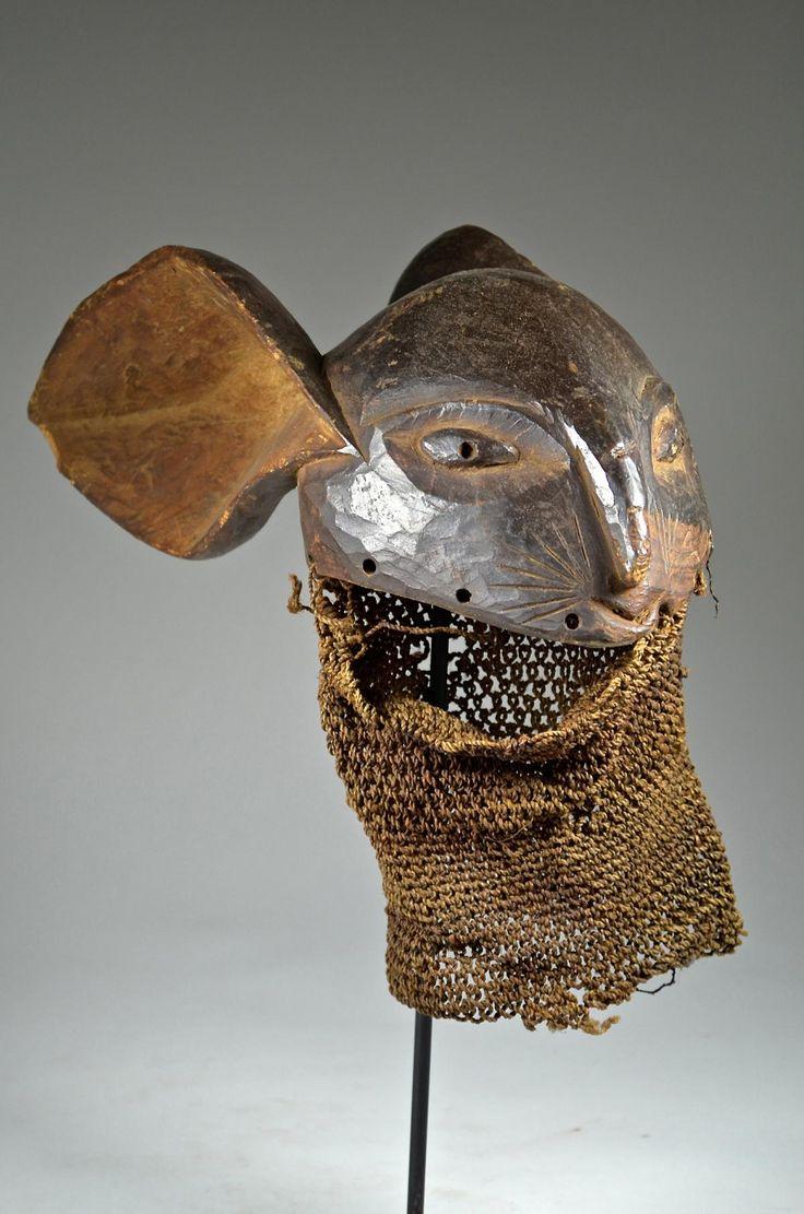 Baule Rabbit Mask 50 cm - ArtTribalCollection.com