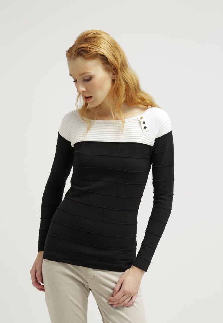 Guess MALVA - Pullover - black - ZALANDO.FR