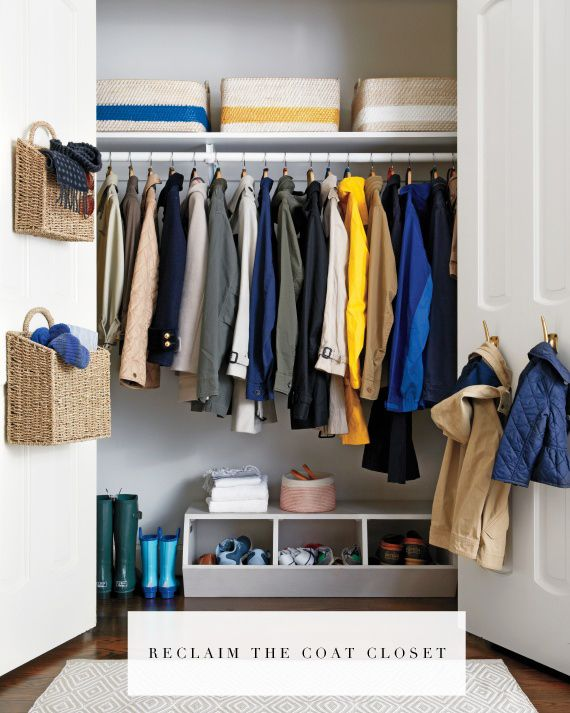 Organize Your Coat Closet This Weekend