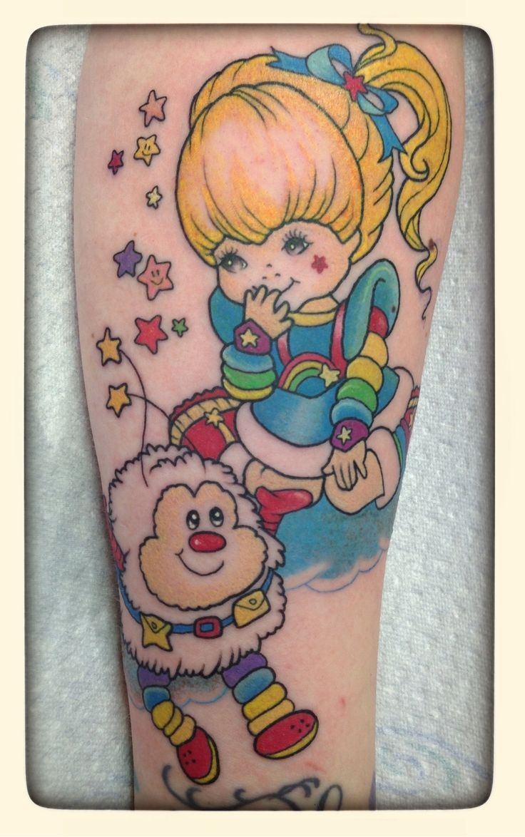rainbow brite tattos | ... that you will always love rainbow brite than with a tattoo from color