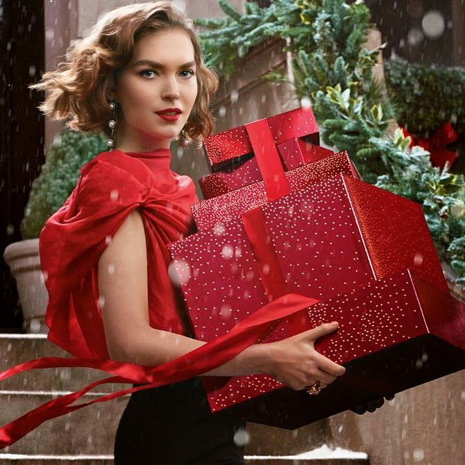 The Essentialist - Fashion Advertising Updated Daily: Estée Lauder Ad Campaign Holiday 2013