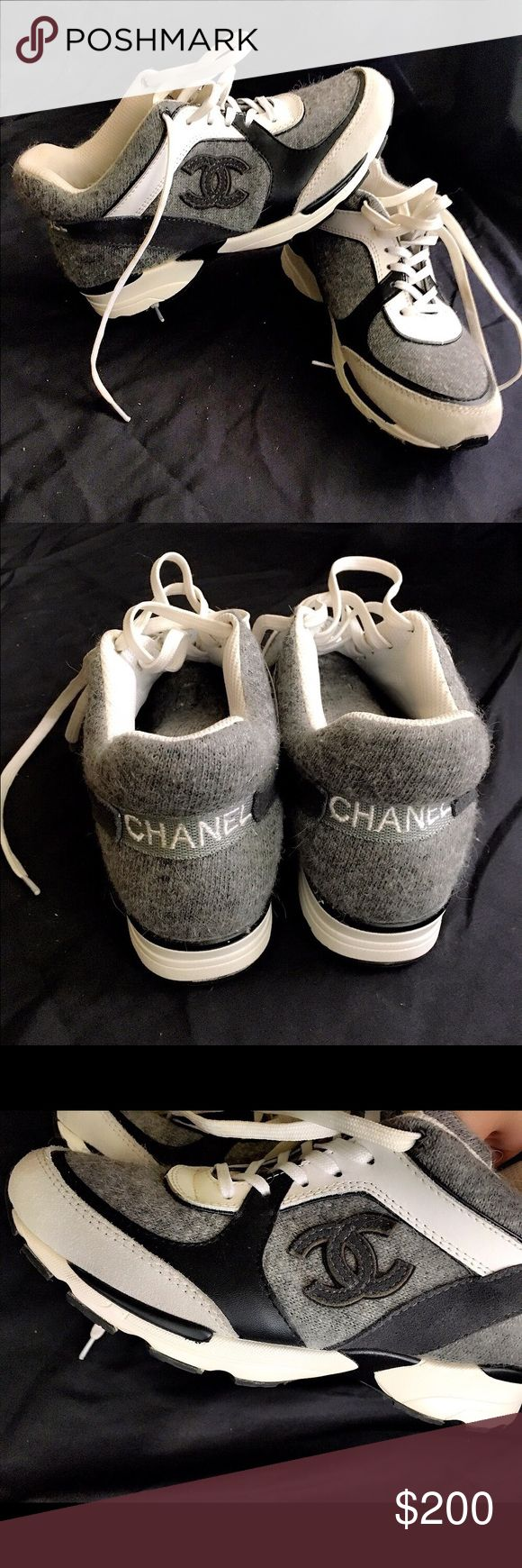 Designer inspired sneakers.  Dont ask obvious! Designer inspired bag. Please dont ask obvious. Price reflects authenticity. chanel Shoes Sneakers