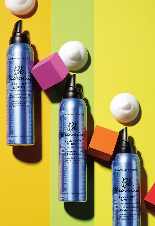 """""""There is a moment for mousse right now, and this stuff really lifts the hair,"""" says Sephora Chief Merchant Margarita Arriagada of Bumble and bumble's new styler. """"It's not easy to make a good mousse, and there's not one like this out there. Mousses used to be crunchy and loaded with alcohol. For the longest time, we've wanted to carry them, but nothing was this caliber of a formula. And now, finally, there's a revival, and it's evolved from what it was before. This is one of the best ones…"""