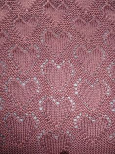 Free Knitting Pattern For Baby Blanket With Hearts : Best 25+ February baby ideas on Pinterest