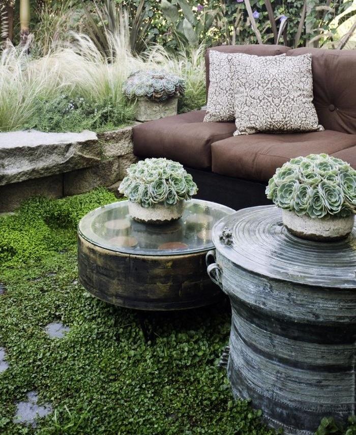 Succulent planters coffee tables pinterest