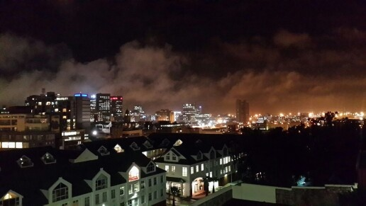 #capetown by night