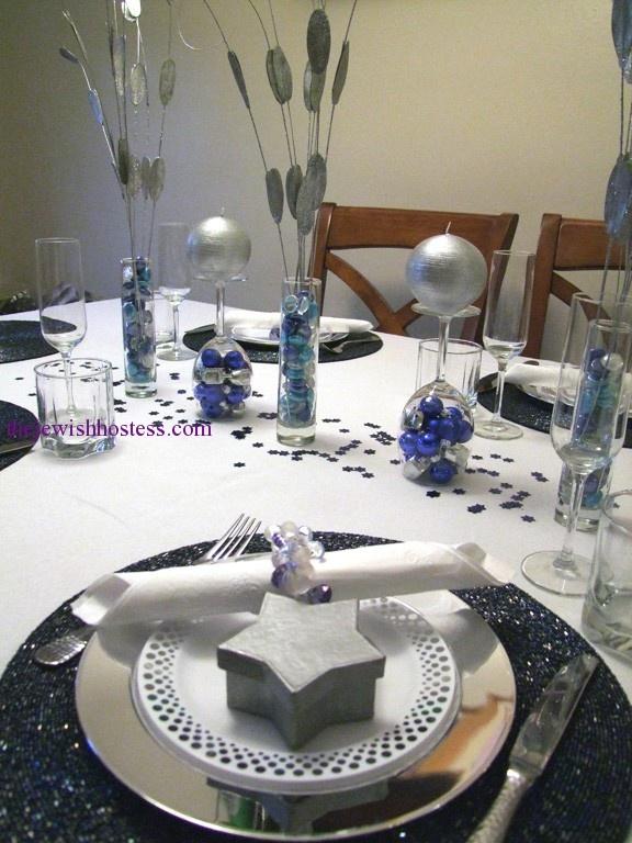 Lorene\u0027s Hanukka Table · Hanukkah TraditionsBeautiful Table SettingsWinter ... & 91 best Hanukka Recipes and Table Settings images on Pinterest ...
