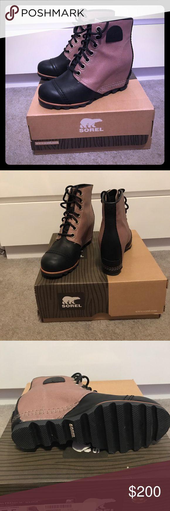 Sorel 1964 Premium Wedge Bluff winter snow boot 7.5. New in box Sorel Shoes Winter & Rain Boots