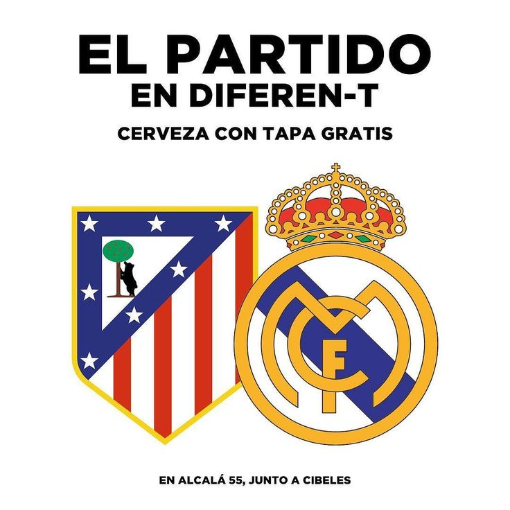 #madrid #futbol #partido #partidazo #derbi #realmadrid #atleticodemadrid #wandametropolitano #liga #laliga #cibeles #retiro #dondeverelpartido #tapagratis