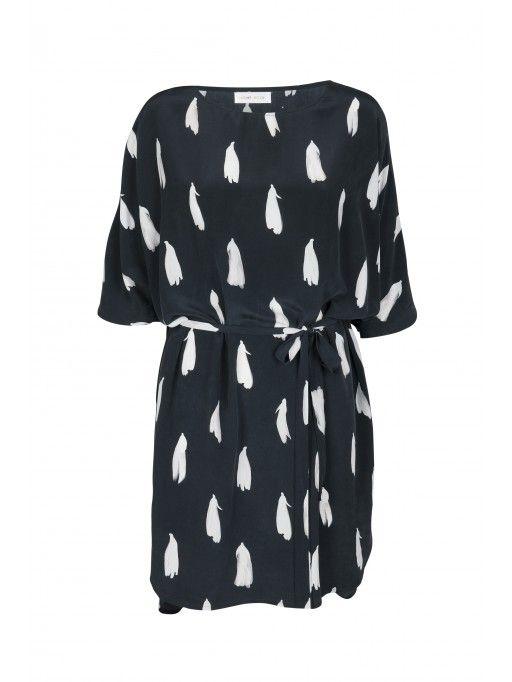 Anthias Dress, Bluebell Dark