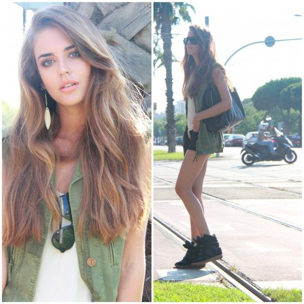 Clara Alonso makes me like my thick hair.