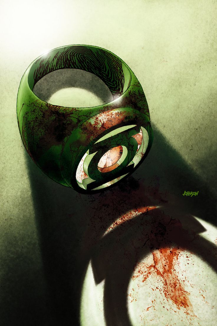 Green Lantern cover  by `Devilpig