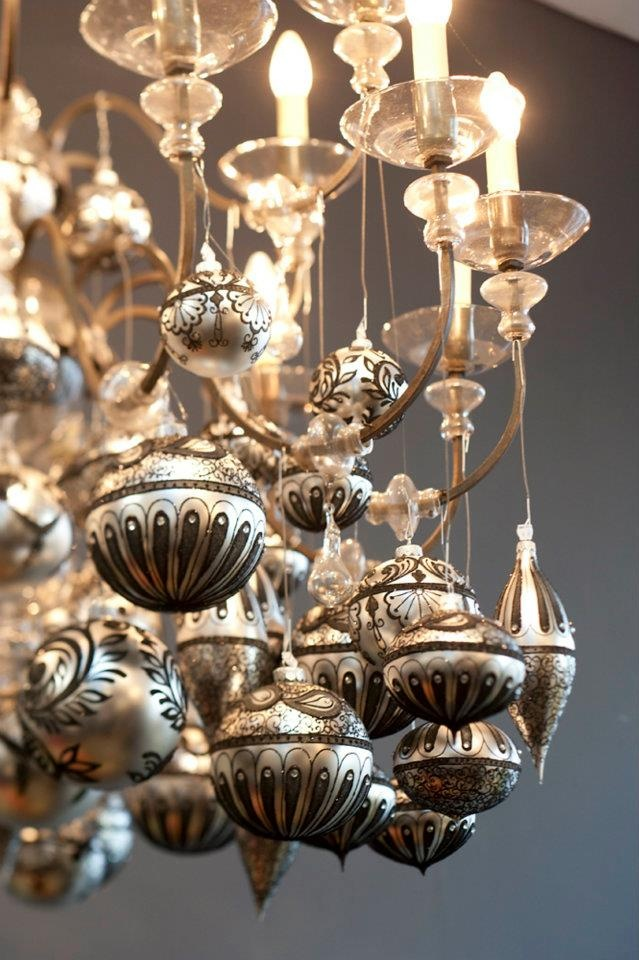 131 best Decorate your Chandeliers images on Pinterest | Winter ...