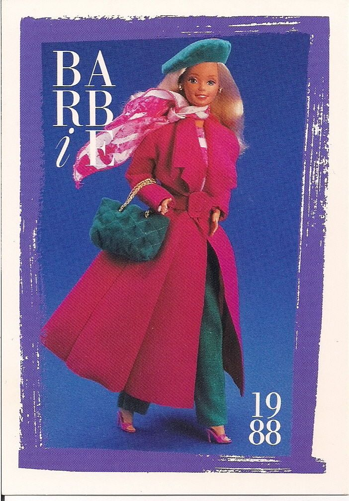 Barbie Fashion Collectable Card - Card No. 218: 1988 - Beverly Hills Fashions | eBay