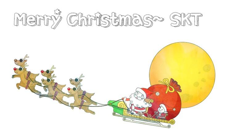 Merry Christmas SKT @SKT 4G LTE