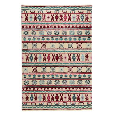 red Carolyn Donnelly Eclectic Mandara Rug