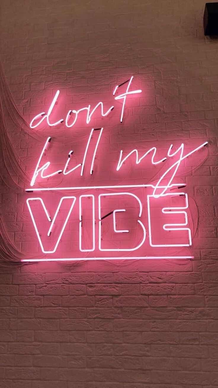 Iphone And Android Wallpapers Pink Neon Wallpaper For Iphone And Android Neon Quotes Pink Neon Wallpaper Neon Wallpaper