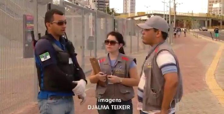 08/09/2014 - desocupação entorno Arena Dunas - Natal