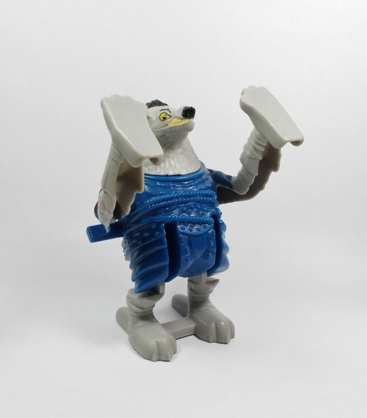 Kung Fu Panda - Wolf Boss - Action Toy Figure - Cake Topper