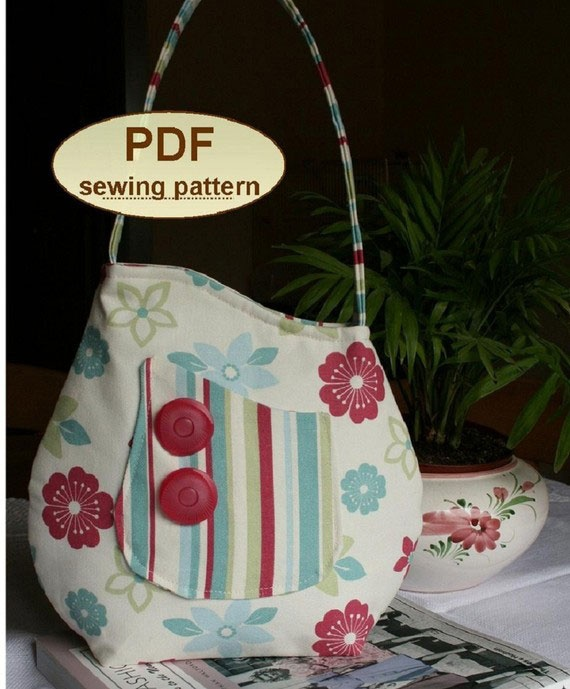 Charlie's Aunt Sophia Bag - Downloadable Pattern - Click Image to Close