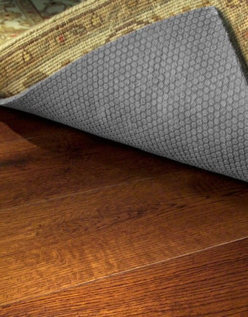 Ultra Premium Non Slip Rug Pad Protects And Floor Prevents Slipping It Is Made In The USA Of Natural Material Thick Safe For