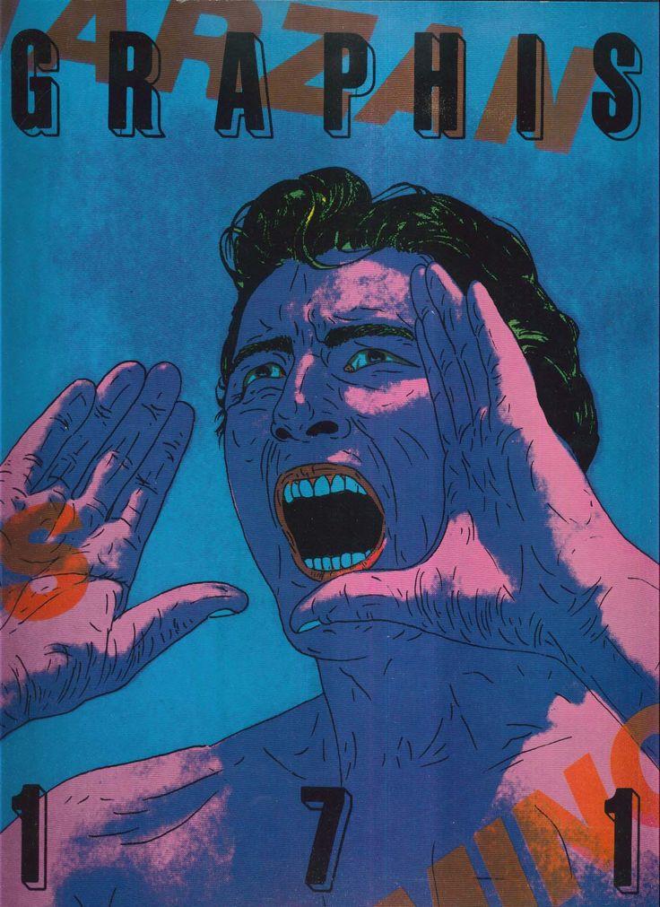 Tadanori Yokoo, cover Graphis 171, 1974/75