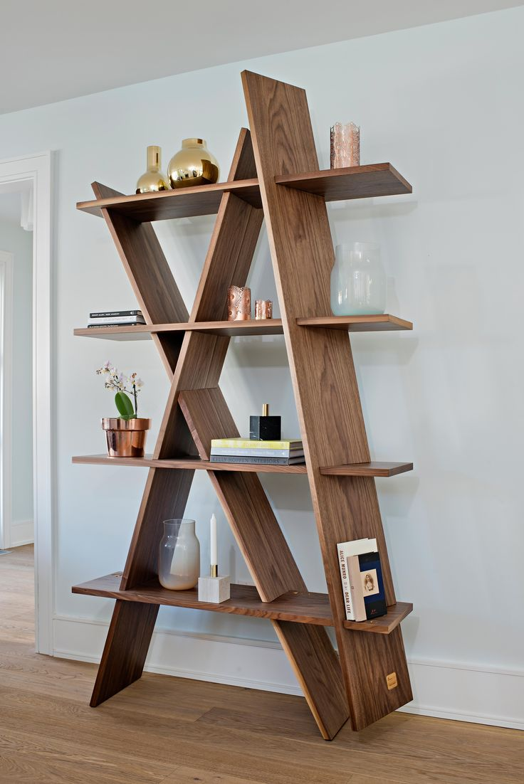 Showcase both books and your favourite decor items on this statement bookcase…