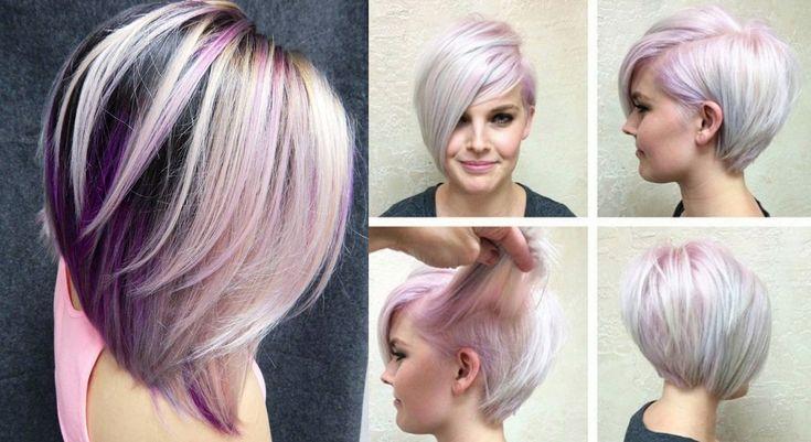 20+ idee di stile per chi vuole i capelli viola! ,       I capelli viola rappresentano una delle ultime tendenze in fatto di acconciature. Il viola rappresenta d'altronde un gruppo di tonalità davve...