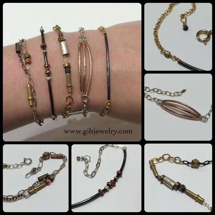 Check out these bracelets by PDX artist Carley Brin that are so stackable. Sterling, brass and goldfilled. $62-68. Call to purchase. #giltjewelry #pdxfashion #pdxartist #smallstudio #handmade #buylocal #buypdx #stackers