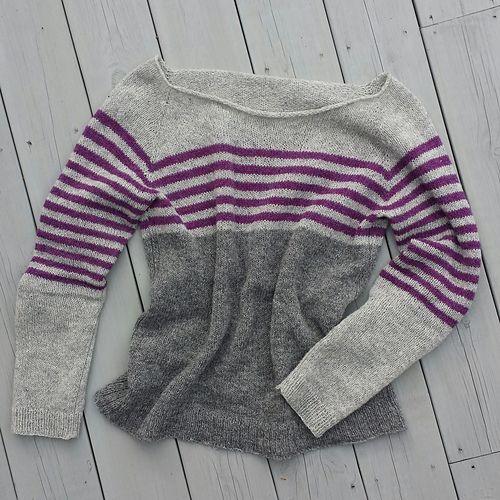 Using yarn from Malsen & Mor og Holst garn. Farge Silver Grey, Klematiz and Flannel Grey.