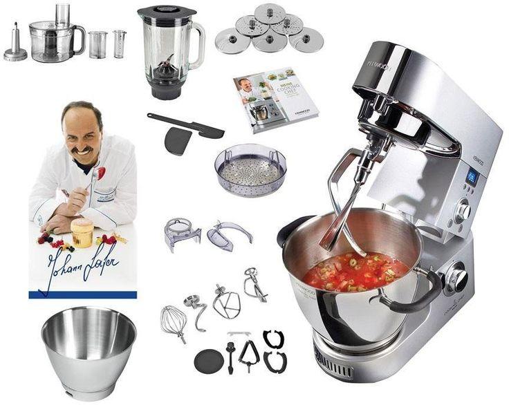 Yli tuhat ideaa: Kenwood Küchenmaschine Cooking Chef Pinterestissä ...