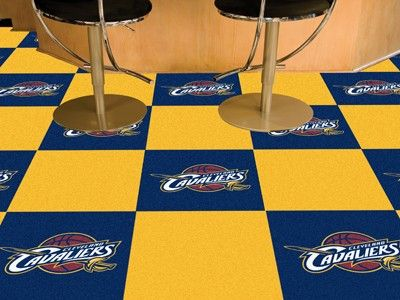 Cleveland Cavaliers 20pk Area Game Room Carpet Rug Tiles