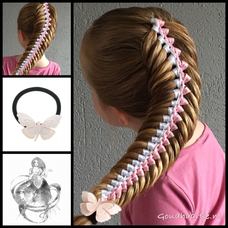 Woven fishtail multi ribbon braid with two ribbons and a lovely hair elastic from our webshop www.goudhaartje.nl We ship worldwide. Braid inspired by: @_elvira_alexa (instagram) #hair #hairstyle #girly #longhair #plait #plaits #trenza #beautifulhair #gorgeoushair #stunninghair #braid #braids #hairinspo #hairinspiration #hairideas #braidideas #hair #hairstyle  #longhair #beautifulhair #ribbon #hairaccessories #ribbonbraid #vlecht #haar #haarstijl #langhaar #haaraccessoires #goudhaartje…