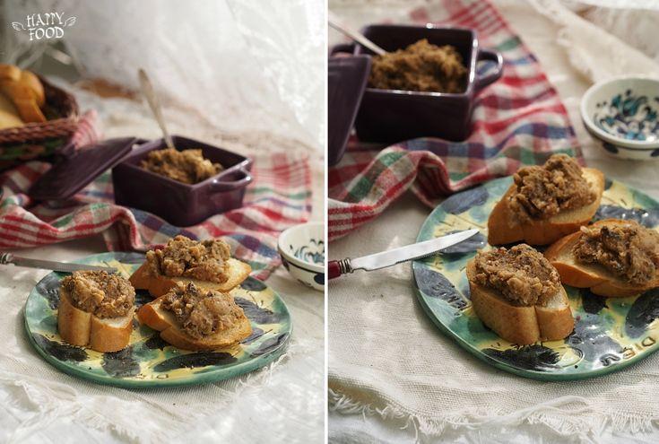HAPPYFOOD - Паштет с грибами и фасолью