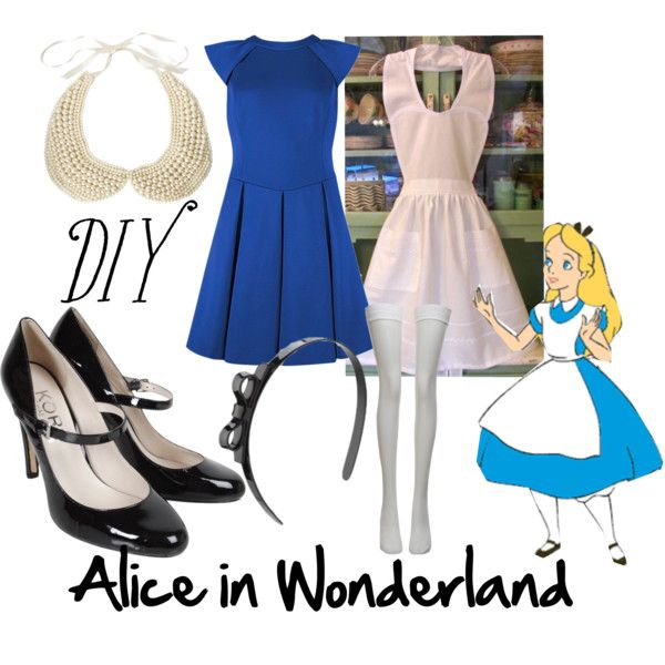 """DIY Alice in Wonderland"" by royalfashions on Polyvore"