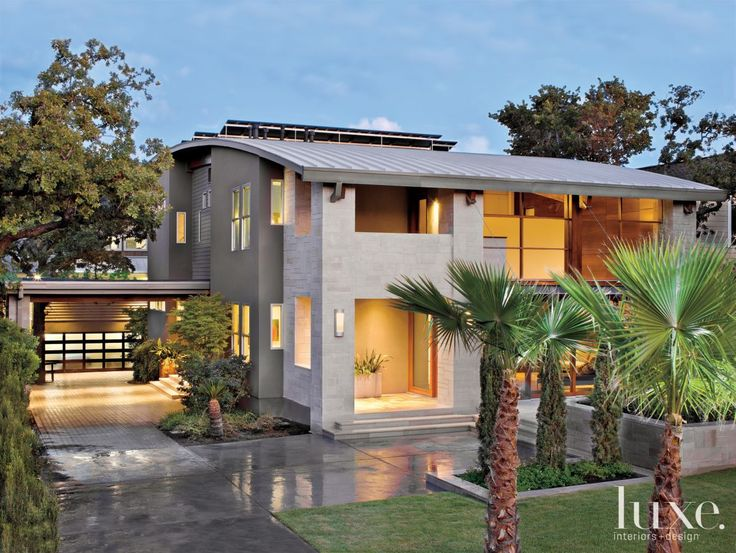 Modern Open Plan Dwelling with a Curved Roof | LuxeSource | Luxe Magazine - The Luxury Home Redefined