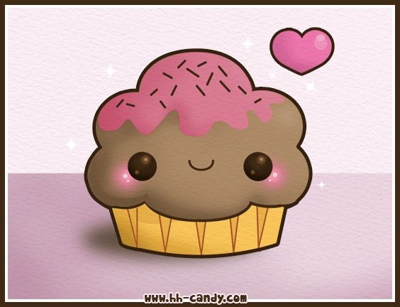 21 best images about kawaii cute on pinterest crochet for Cute muffin drawing