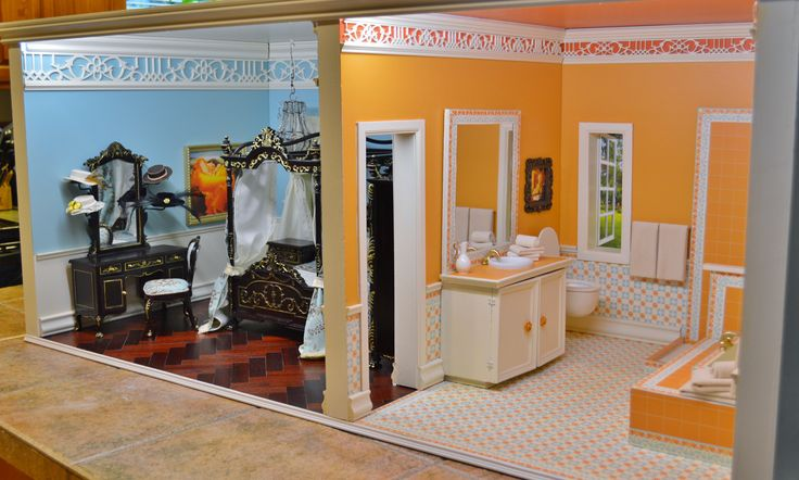 1 6 Scale Bedroom And Bath Suite Fit For Fashion Royalty