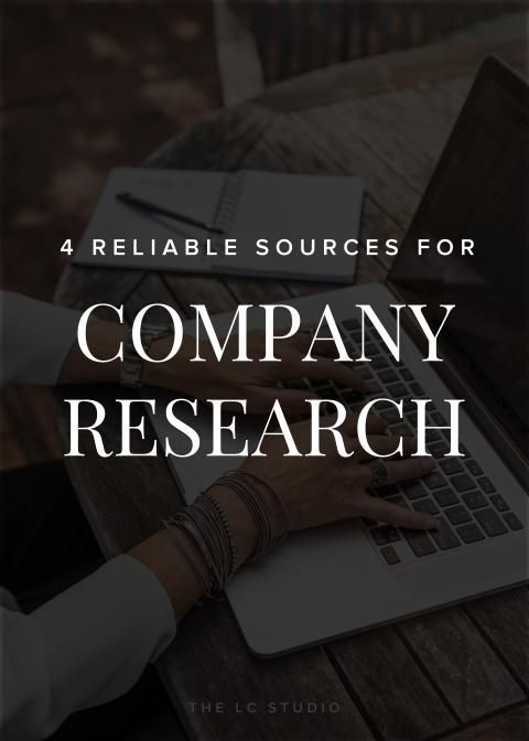 When job hunting, remember that you're researching THEM as much as they're researching YOU. Here are 4 go-to sources for giving that potential employer a background check.