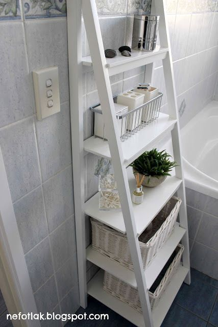 small bathroom shelves white 25 best ideas about ladder shelves on 20488