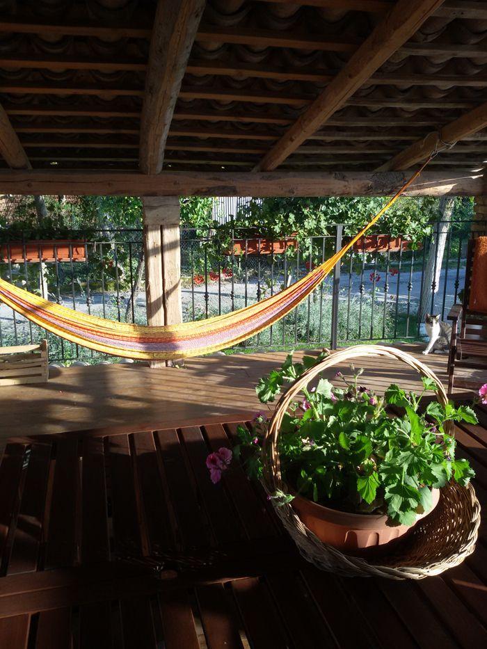 l'amaca in veranda