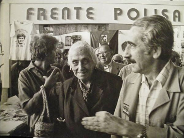 Armando López Salinas y Pasionaria