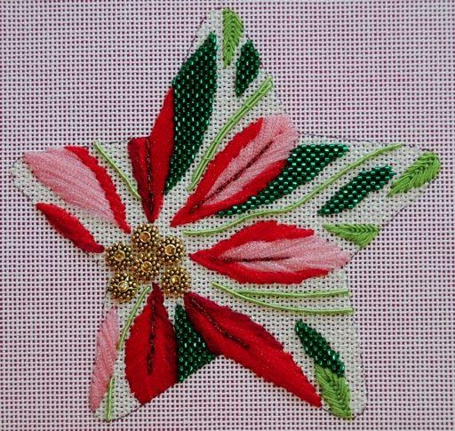 Not xstitch, but still beautiful needlework!  Raymond Crawford star class at Bestitched Needlepoint