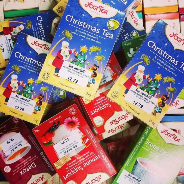 Jest już nowa dostawa YOGI TEA. Mamy kilka nowości idealnych na tą porę roku oraz herbatkę świąteczną. Wpadajcie po nowe zapasy  #biomarketpoznan #vegan #poznan #instagood #instalike #instafood #followme #love #lifestyle #amazing #yogitea
