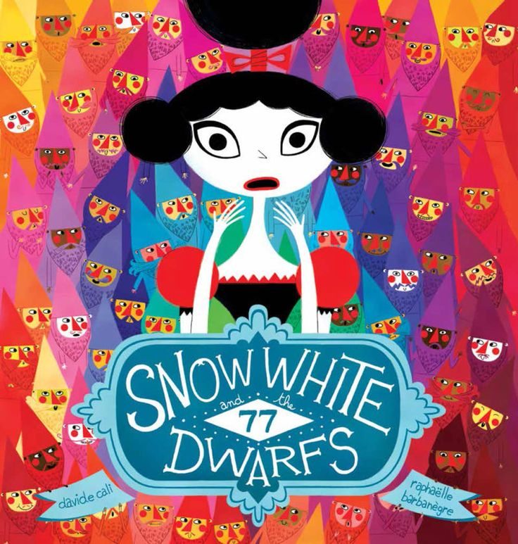 In the classic version of the fairy tale, Snow White had her work cut out for her cleaning up after seven dwarves, but seventy-seven? That's a whole other barrel of poisoned apples!What kind of reader is it for? Kids who like stories that are as silly as they are colorful.Release Date: Out now.Buy here.